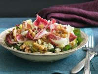 Radicchio Salad with Walnuts and Blue Cheese recipe