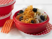 Radish and Carrot Salad with Blueberries recipe