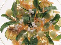 Radish, Apple and Cress Salad Wth Yogurt Dressing recipe