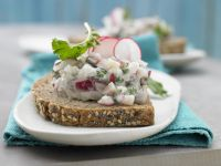 Radish-Herring Tartare recipe