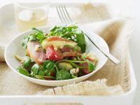 Radish Salad with Duck recipe