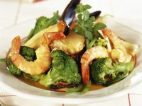Ragout of Seafood and Broccoli