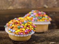 Rainbow Sweetie Muffins recipe
