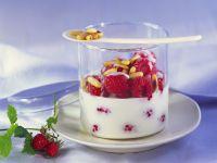 Raspberries with Kefir recipe