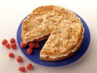 Raspberry Almond Cake recipe