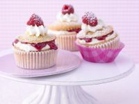 Raspberry and Almond Cheesecake Cupcakes recipe