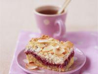 Raspberry and Coconut Slice recipe