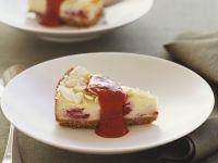 Raspberry Cheesecake with Raspberry Sauce recipe
