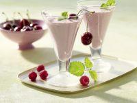 Raspberry Cherry Smoothie