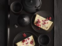 Raspberry, Chestnut and White Chocolate Terrine recipe