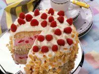 Raspberry Cream Cake recipe