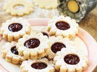 Raspberry Jam Biscuits recipe