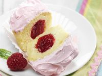 Raspberry Jam Cupcakes recipe