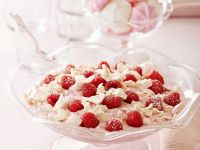 Raspberry-Quark Mousse