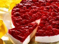 Raspberry Yogurt Cheesecake recipe