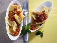 Ravioli with Meat Sauce recipe