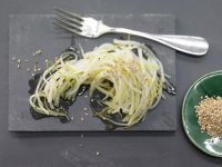 Raw Kohlrabi recipe