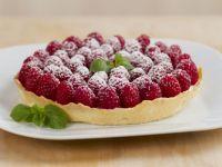 Red Berry and Custard Tart recipe