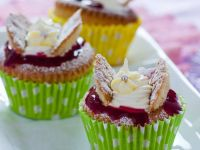 Red Berry Fairy Cakes recipe
