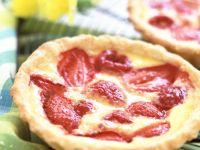 Red Berry Mini Flans recipe