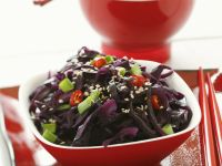 Red Cabbage Salad with Sesame recipe