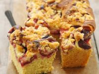 Red Fruit Loaf with Topping recipe