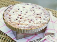 Red Fruit Pie with Icing Sugar recipe