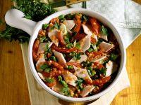 Red Lentil Salad with Sausage recipe