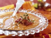 Red Lentil Soup with Bacon recipe
