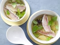 Red Mullet in Ginger Broth recipe