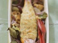 Red Mullet with Breadcrumb Topping recipe