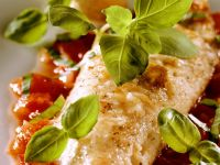Red Mullet with Tomato Sauce and Basil recipe