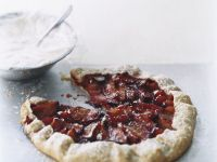 Red Plum One-crust Pie recipe