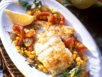 Red Snapper with Sweet Corn recipe