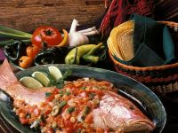 Red Snapper with Tomato-pepper Sauce recipe