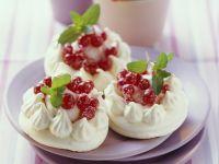 Redcurrant Meringues recipe