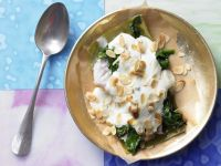 Redfish and Spinach Bake recipe