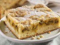 Rhubarb and Almond Cake recipe