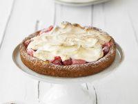 Rhubarb and Cream Tart recipe