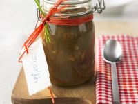 Rhubarb and Ginger Chutney recipe