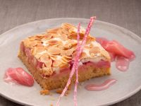 Rhubarb Cake with Meringue Topping recipe