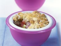 Rhubarb Crumble recipe