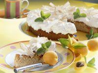 Rhubarb Meringue Cake recipe