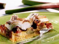 Rhubarb-Meringue-Cake recipe