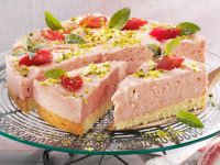 Rhubarb Tart with Cream recipe