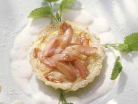Rhubarb Tartlets recipe