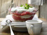 Rhubarb Trifle recipe