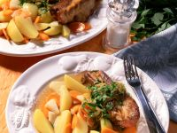Ribs with Vegetables recipe