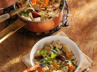 Rice and Chanterelle Stew recipe