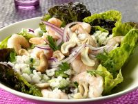 Rice and Prawn Salad with Cashews recipe